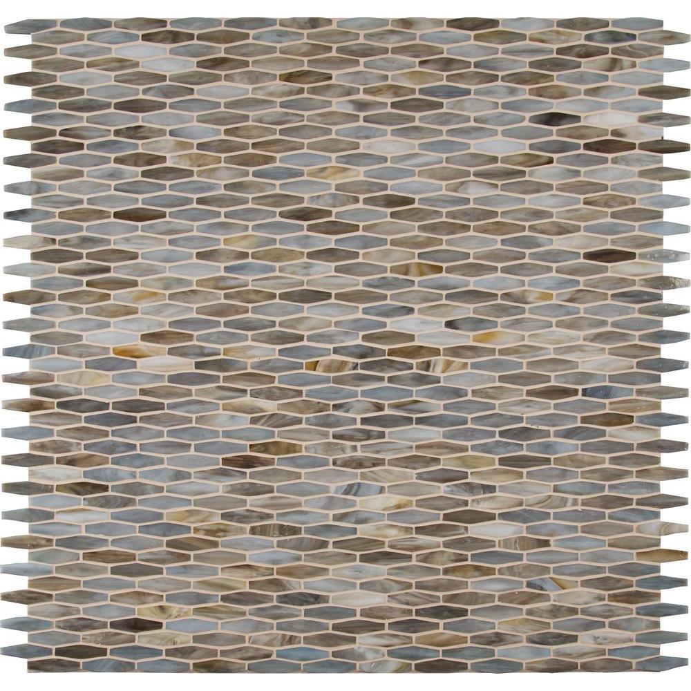 Msi Mochachino 12 In X 3mm Gl Mesh Mounted Mosaic