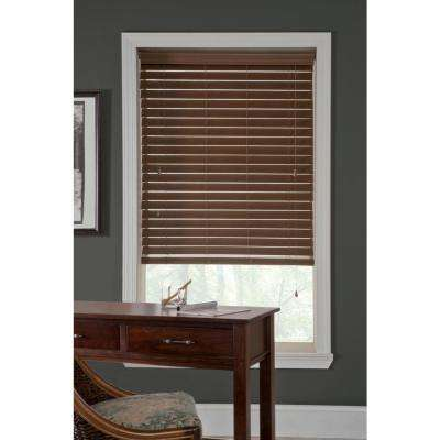 Room Darkening White 2 5 Faux Wood Blinds Blinds The Home