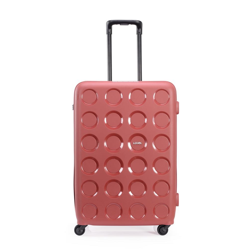 Vita 27.75 in. Marsala Red Hardside Spinner Suitcase