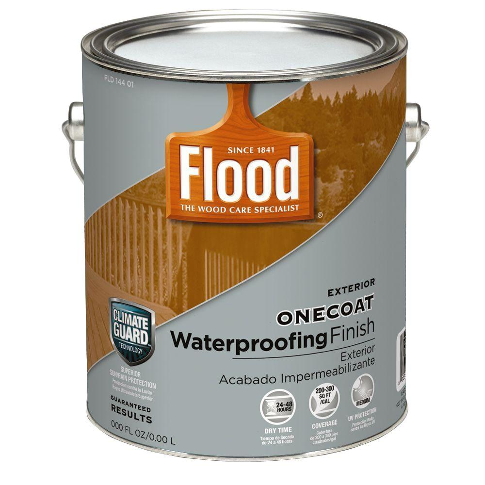 Flood 1-gal. Natural One Coat Protection Translucent Stain