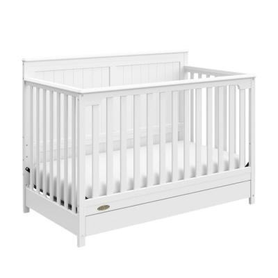 Graco Hadley 4-in-1 Convertible Crib with Drawer-White