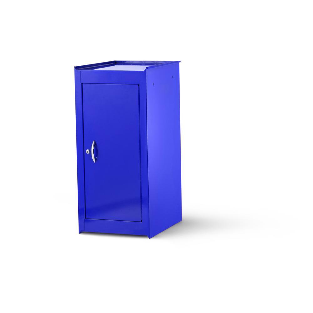 International Tech Series 15 in. 1-Shelf Full Side Locker, Blue