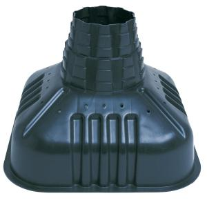 22 in. x 16-1/2 in. x 22 in. Plastic Concrete Footing Form