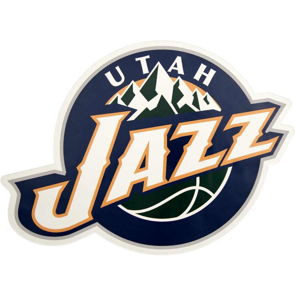 NBA Utah Jazz Outdoor Logo Graphic- Small