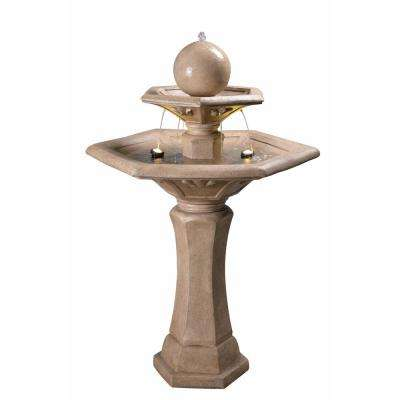 Riviera Resin and Concrete Outdoor Floor Fountain