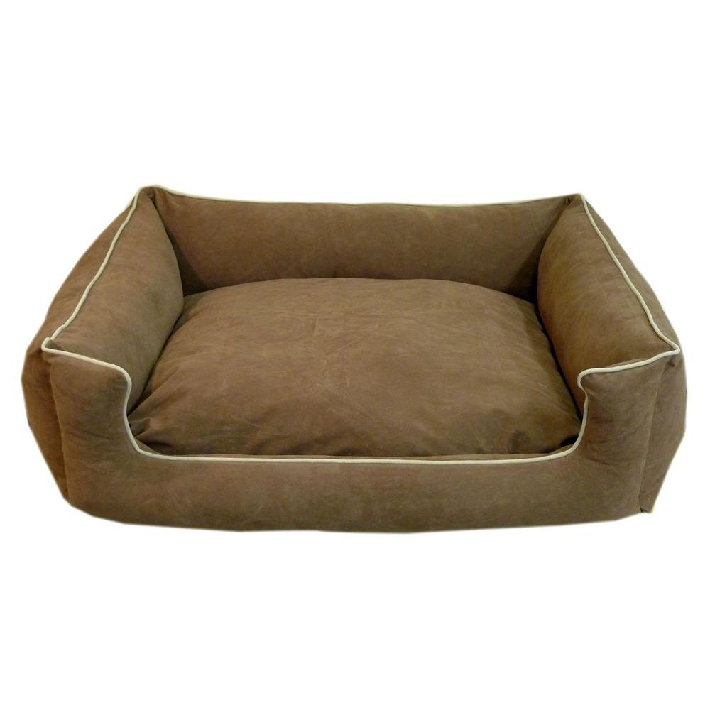 Large Chocolate Low Profile Kuddle Lounge