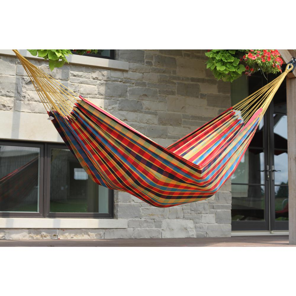 Vivere 13 Ft. Brazilian Cotton Double Hammock In Paradise