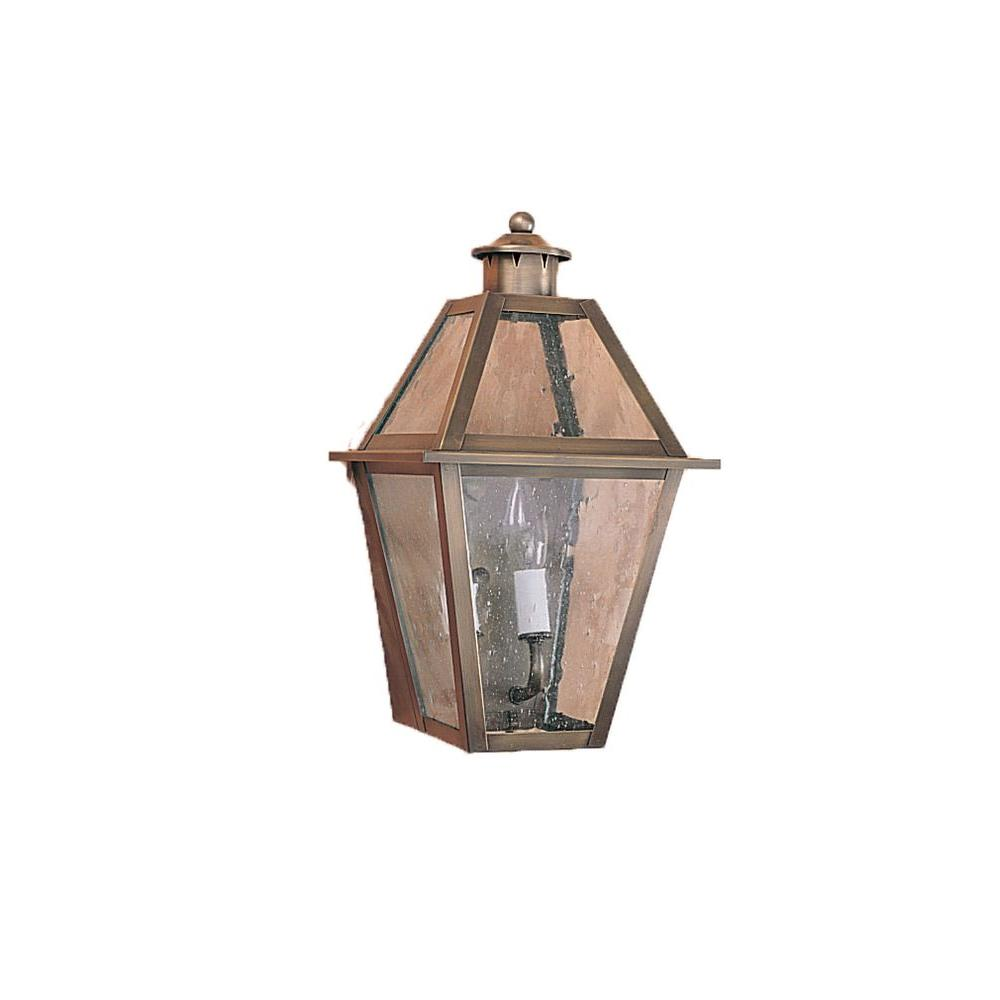 Illumine 2-Light 15 in. Matte Bronze Outdoor Lantern