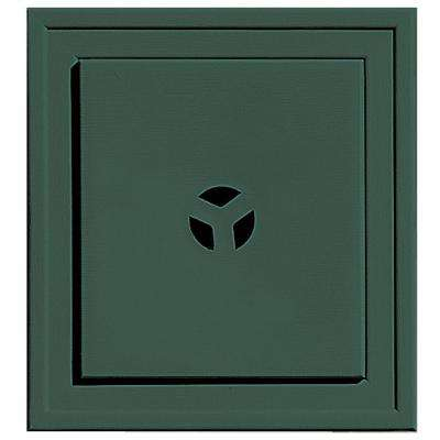 7.9375 in. x 7.9375 in. #028 Forest Green Slim Line Universal Mounting Block