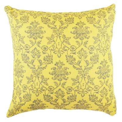 Damask Designer Throw Pillow