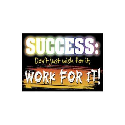 Success Don't Just Wish Poster