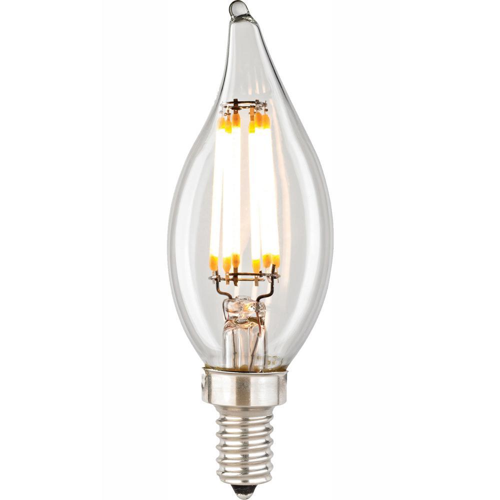 Titan Lighting Filament Candelabra LED Bulb