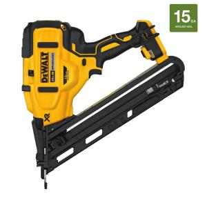 Dewalt 20-Volt MAX XR Lithium-Ion Cordless 15-Gauge Angled Finish Nailer (Tool-Only) by DEWALT