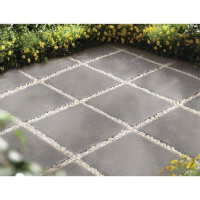 12 in. x 12 in. x 1.5 in. Pewter Square Concrete Step Stone