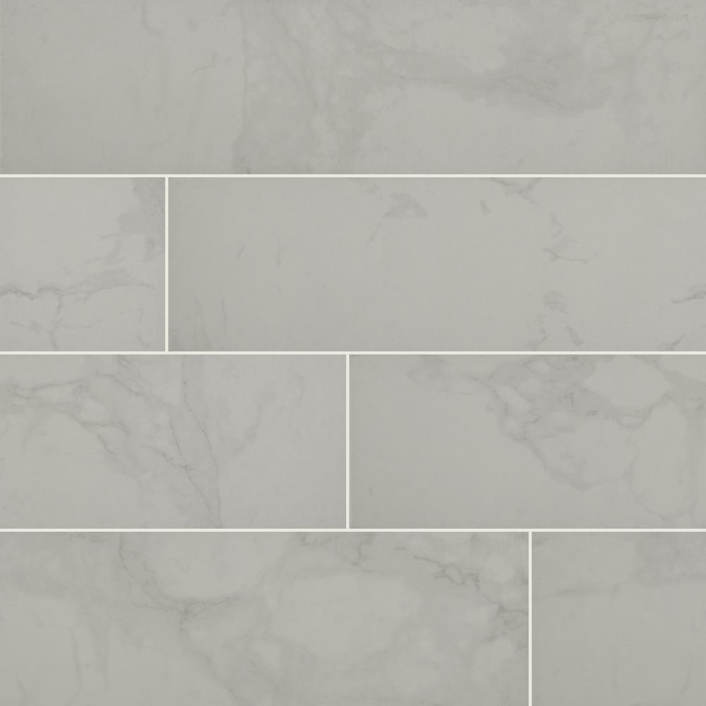 MSI Carrara 30 in. x 30 in. Matte Porcelain Floor and Wall Tile (30 sq. ft.  / case)