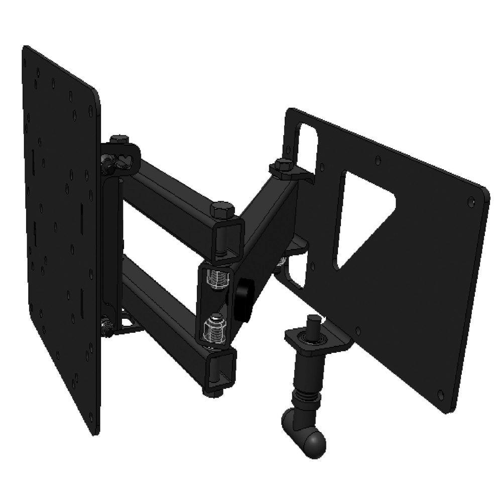 Extending Swivel TV Wall Mount with Light-Duty