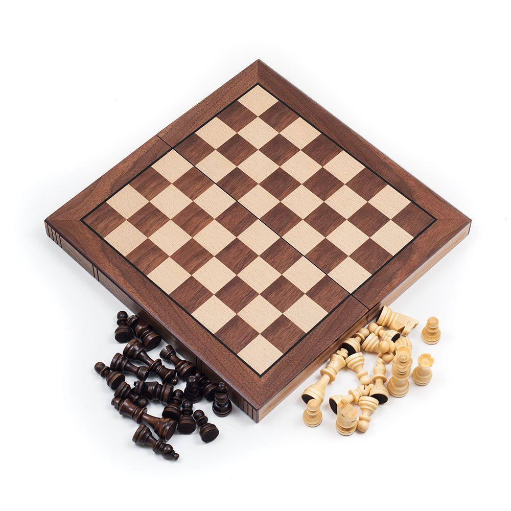 Deluxe Wooden 3-in-1 Game Set