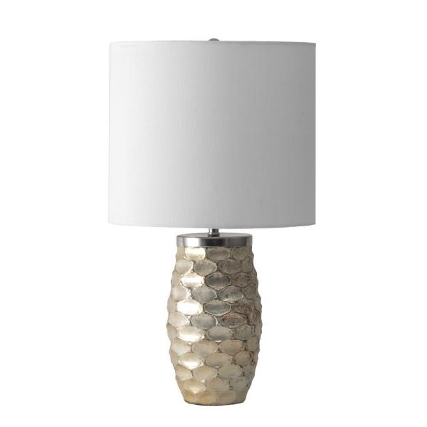 Nuloom Barstow 19 In Gold Modern Table Lamp Dimmable Ugt02aa The Home Depot