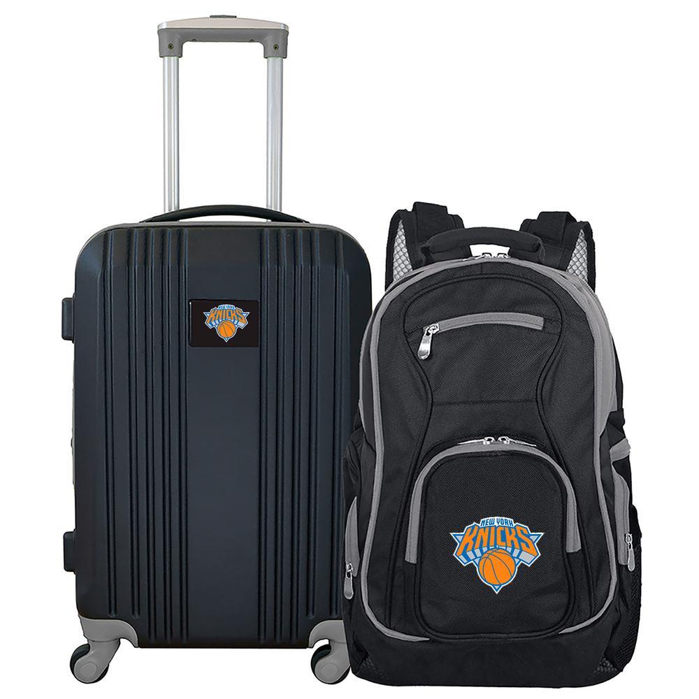 Mojo NBA New York Knicks 2-Piece Set Luggage and Backpack NBKNL108