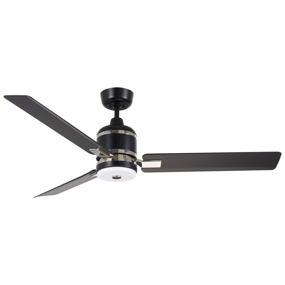 Emerson Ceiling Fans : Emerson ideal in led barbeque black ceiling fan