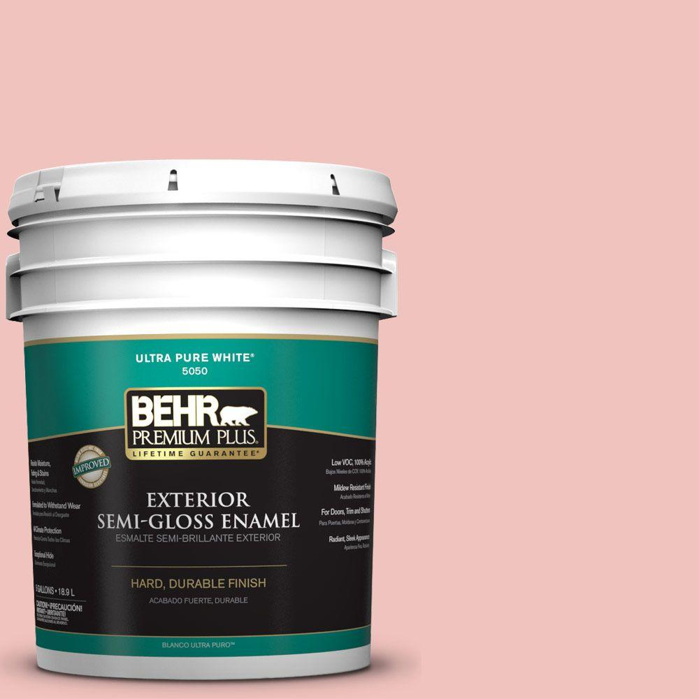 5-gal. #M160-2 Taffy Twist Semi-Gloss Enamel Exterior Paint