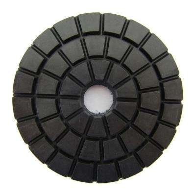 3 in. Black Buff Wet Diamond Polishing Pad for Stone