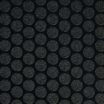 Small Coin 7.5 ft. x 17 ft. Midnight Black Commercial Grade Vinyl Garage Flooring Cover and Protector