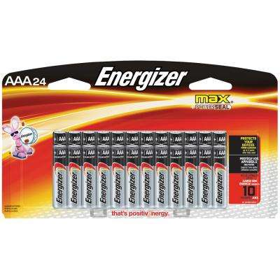 Alkaline AAA Battery (24-Pack)