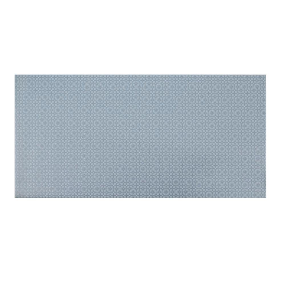 Poppy Blue 10 in. x 20 in. Ceramic Wall Tile (10.76 sq. ft. / Case)