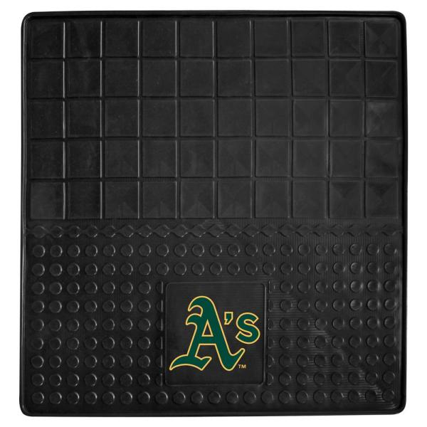 Oakland Athletics Heavy Duty 31 in. x 31 in. Vinyl Cargo Mat