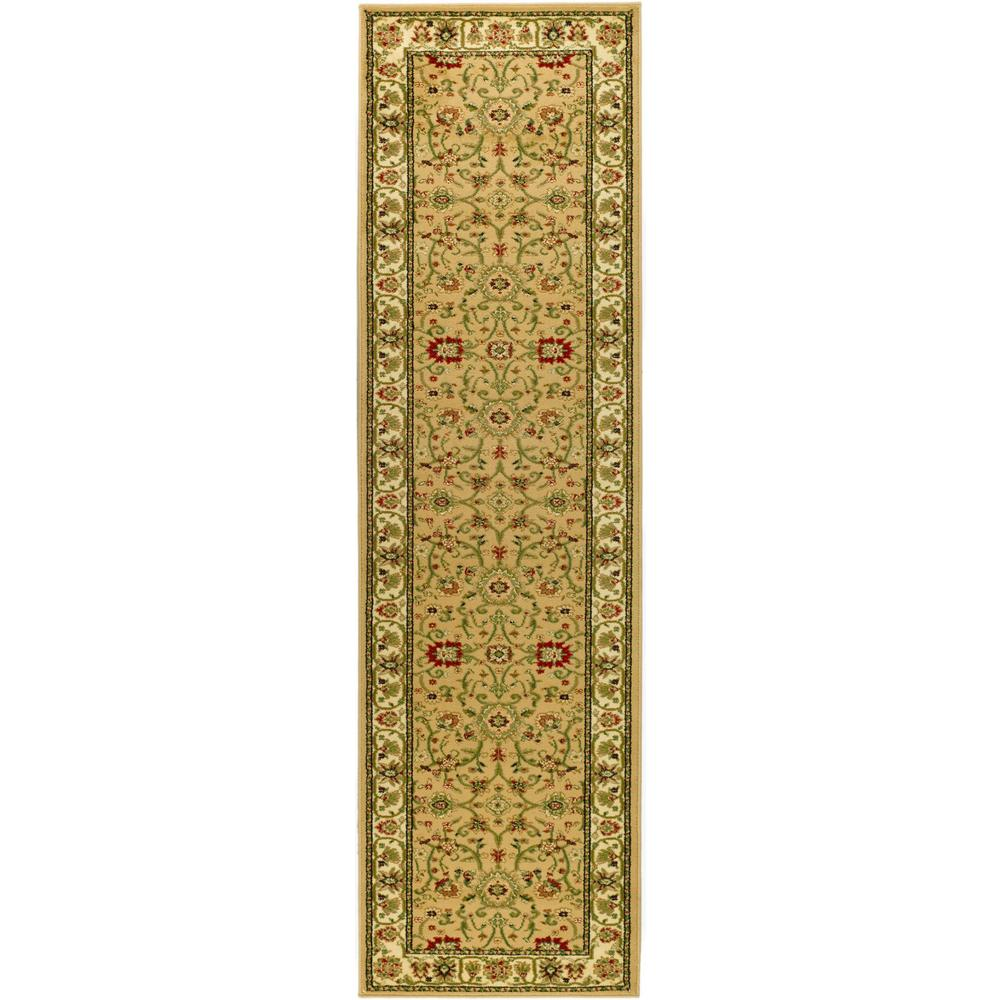 Lyndhurst Beige/Ivory 2 ft. 3 in. x 12 ft. Runner