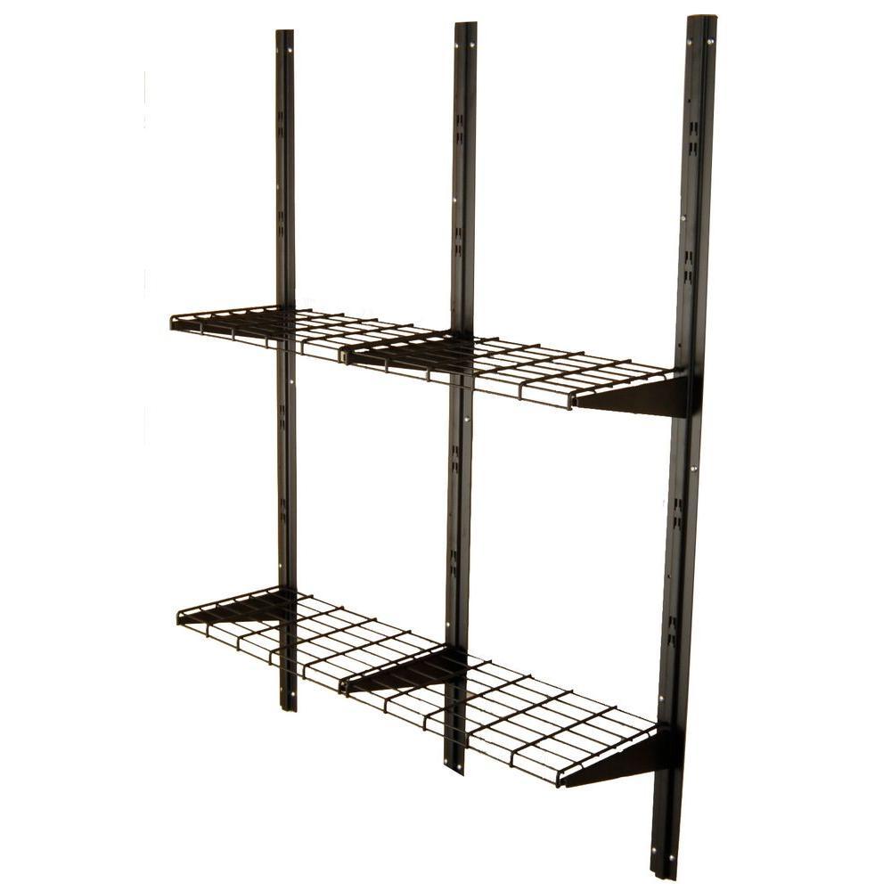 Suncast 11 in. x 3 ft. 4 in. Metal Shelf Kit for Alpine/Cascade/Sutton Series Sheds