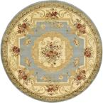 Versailles Henry Light Blue 6' 0 x 6' 0 Round Rug