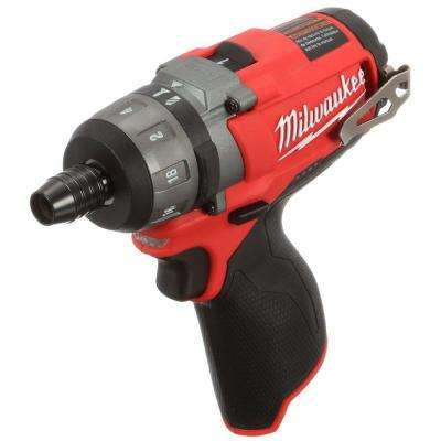 M12 FUEL 12-Volt Cordless Brushless 1/4 in. Hex 2-Speed Screwdriver (Tool-Only)