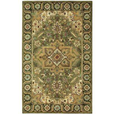 Normandie Sage/Green 5 ft. x 8 ft. Area Rug