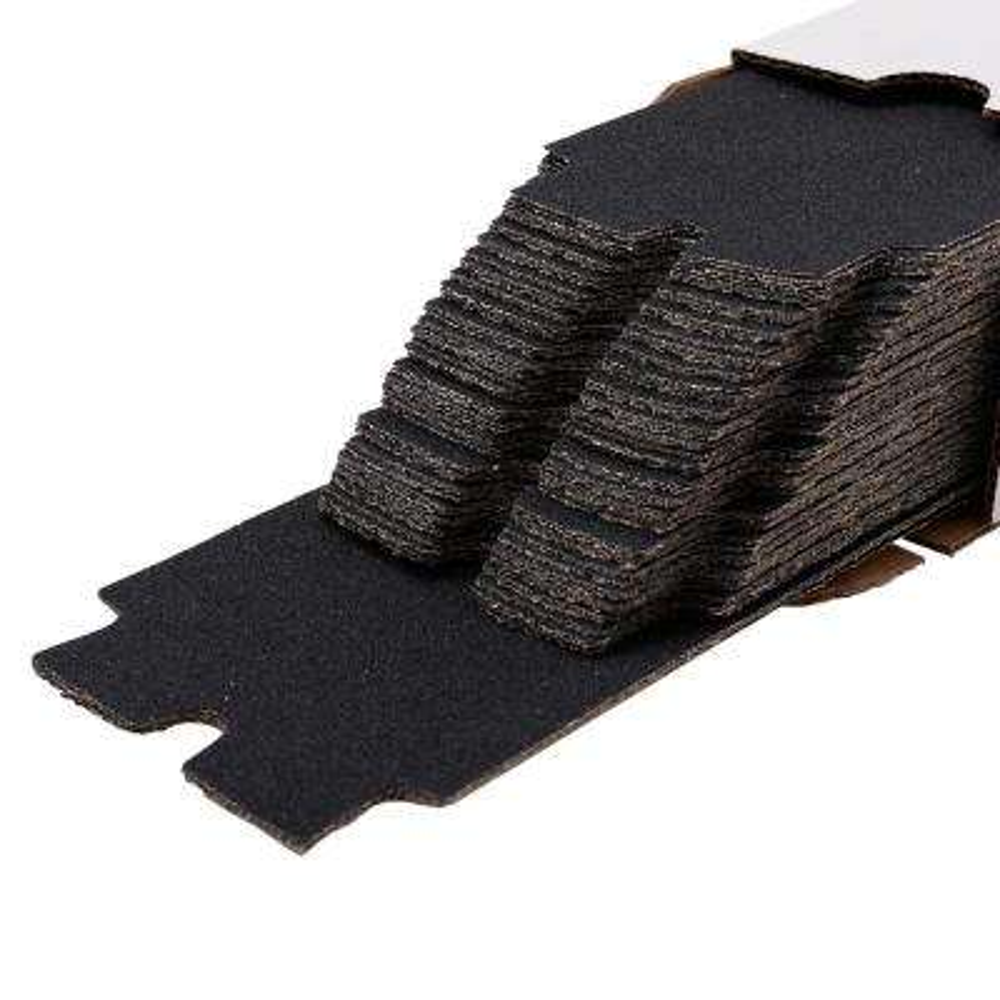 Long Tab 4-3/16 in. x 11-5/16 in. 80-Grit Drywall Sanding Sheets (100-Pack)