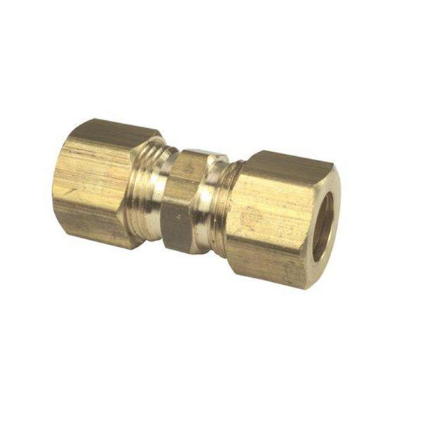 5/8 in. x 5/8 in. Lead Free Brass Compression Union (10-Pack)