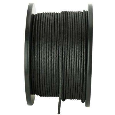 1/8 in. x 500 ft. Black Para Cord