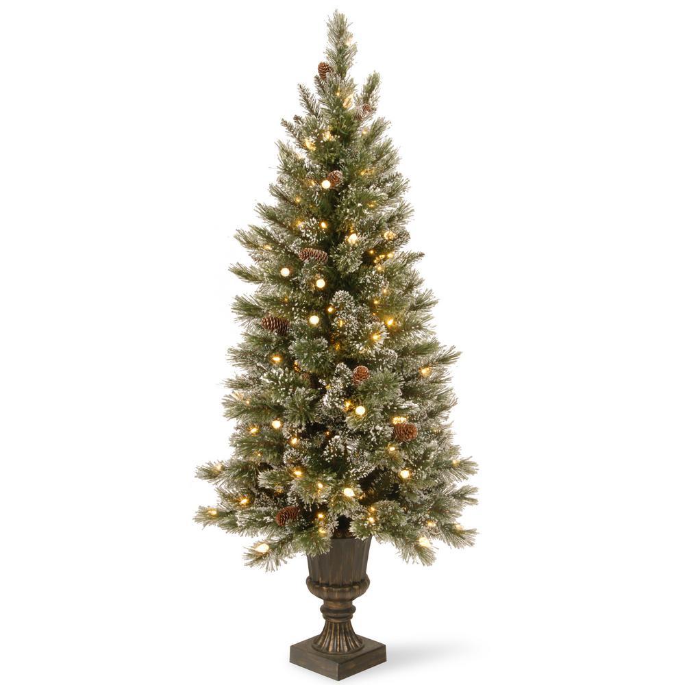 National Tree Company 5 Ft Wispy Willow Grande Entrance  - Wispy Willow Christmas Tree