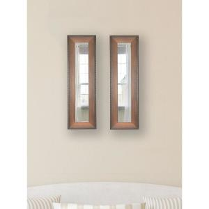 11.5 inch x 29.5 inch Timber Estate Vanity Mirror (Set of 2-Panels) by