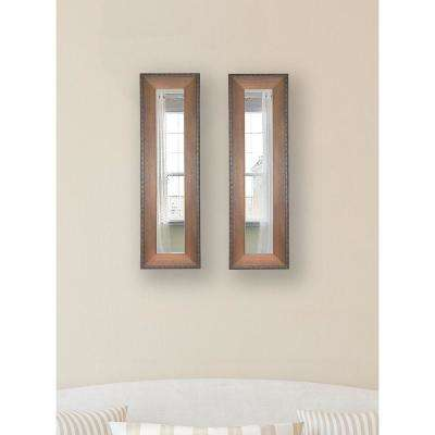 11.5 in. x 29.5 in. Timber Estate Vanity Mirror (Set of 2-Panels)