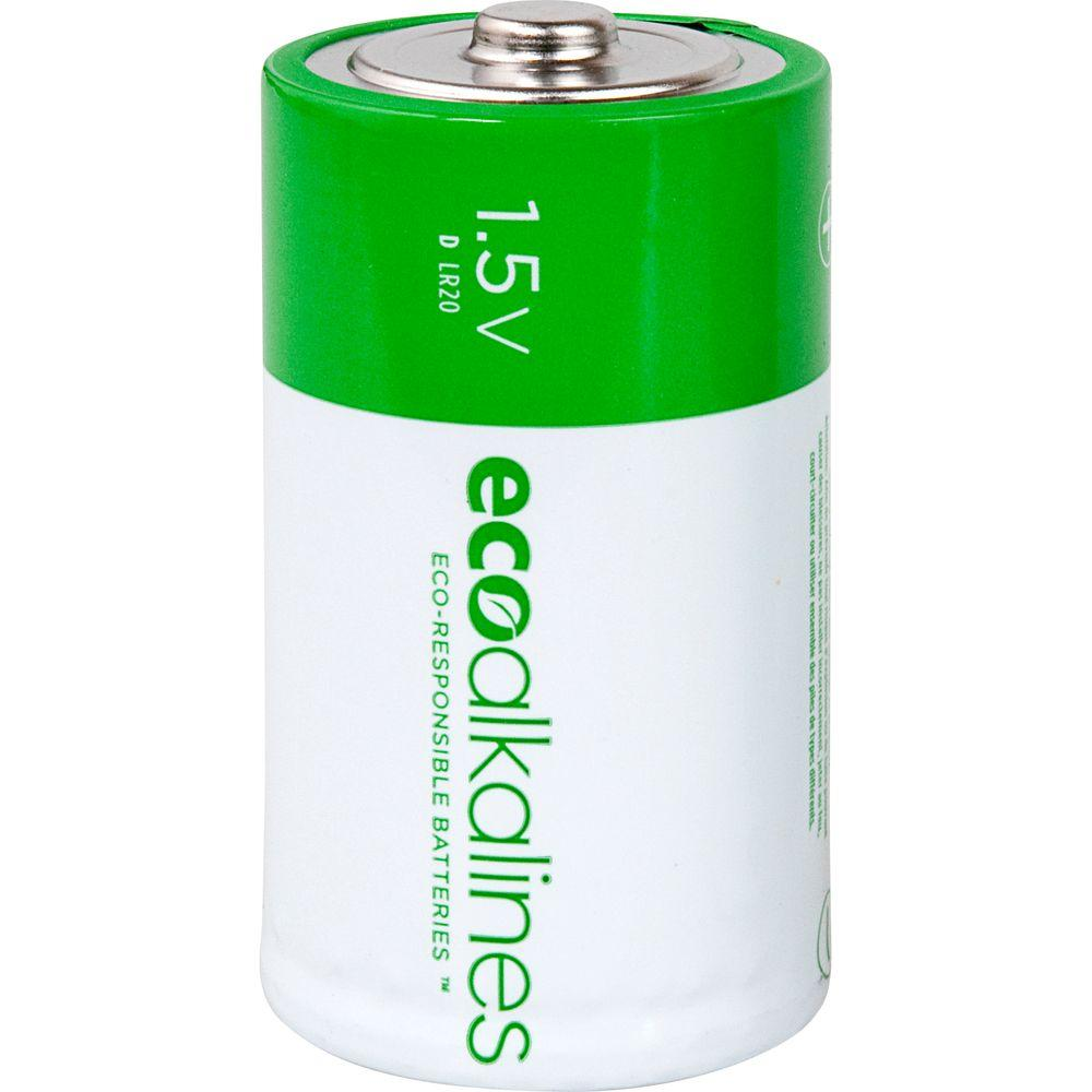 Eco Alkalines D Batteries (12-Pack)