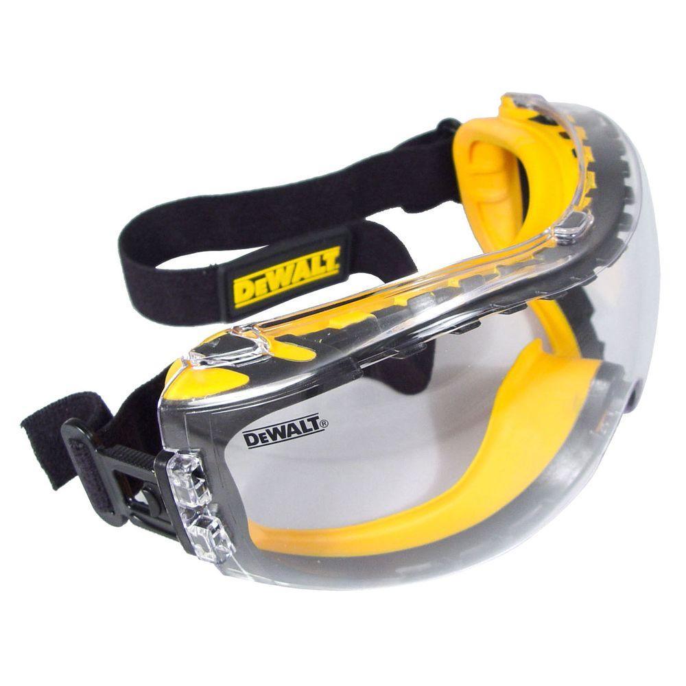 DEWALT Safety Goggles Concealer with Clear Anti-Fog Lens