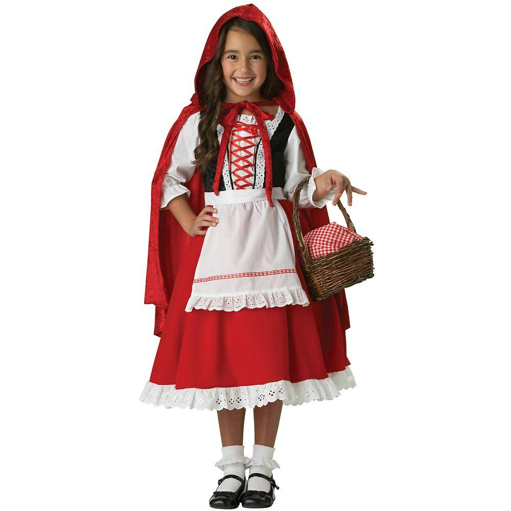 InCharacter Costumes Elite Little Red Riding Hood Child Costume  sc 1 st  Home Depot & InCharacter Costumes Elite Little Red Riding Hood Child Costume ...