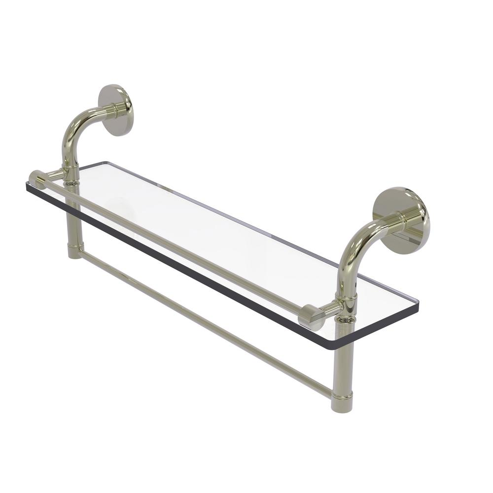 Allied Brass Remi Collection 22 in. Gallery Glass Shelf with Towel ...
