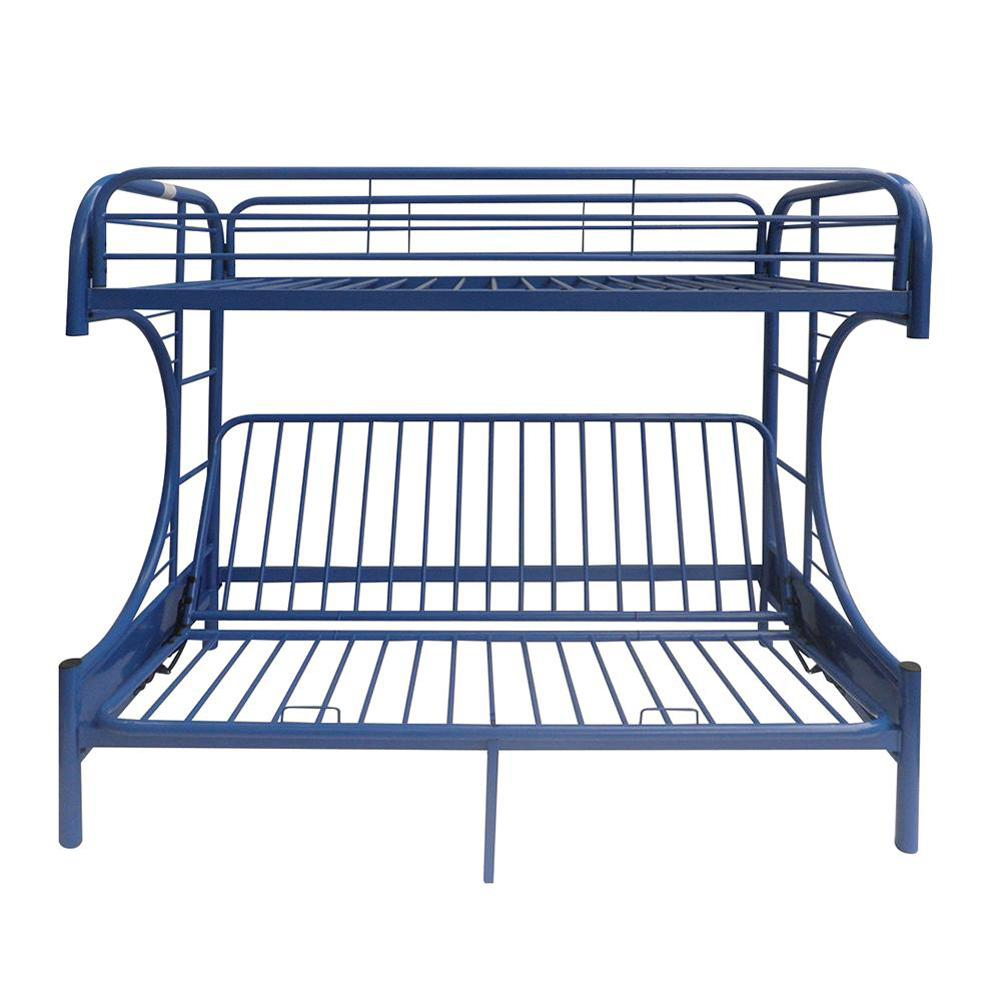 Acme Furniture Eclipse Navy Twin Over Full Metal Bunk Bed