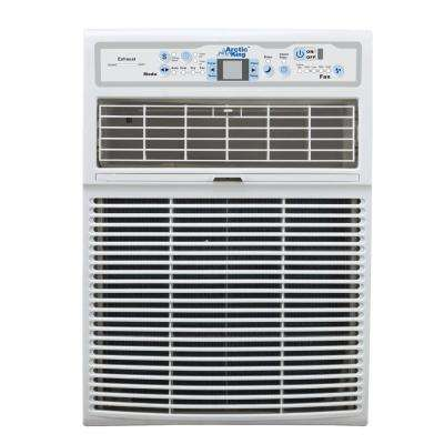 8,000 BTU 110-Volt Slide Casement Window Air Conditioner and Remote