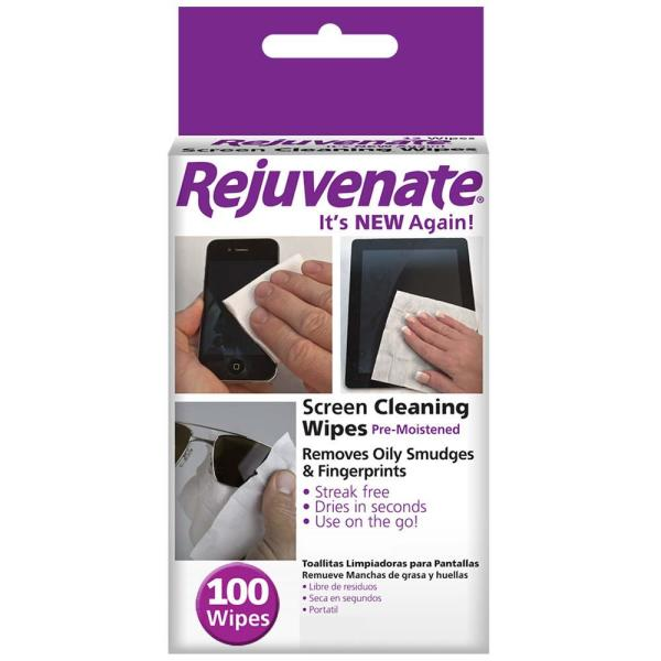 Pre-Moistened Screen Cleaning Wipes (12-Count)