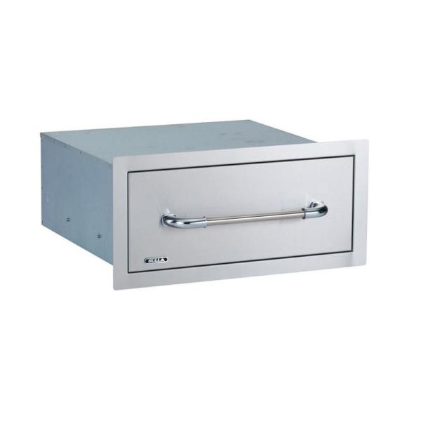 24 in. Drawer, Single, Large, Enclosed System