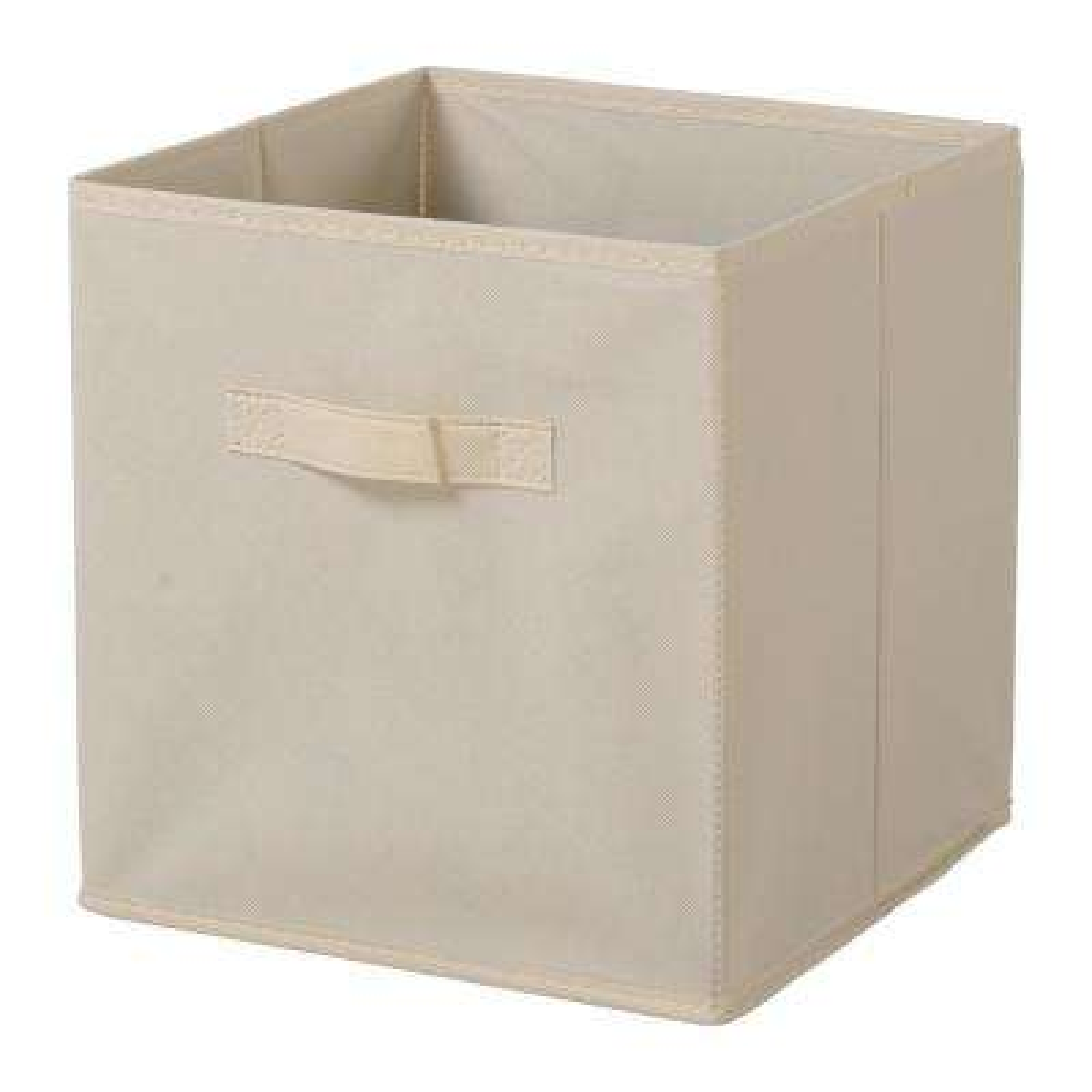 Beige Fabric Bin (3-Pack)